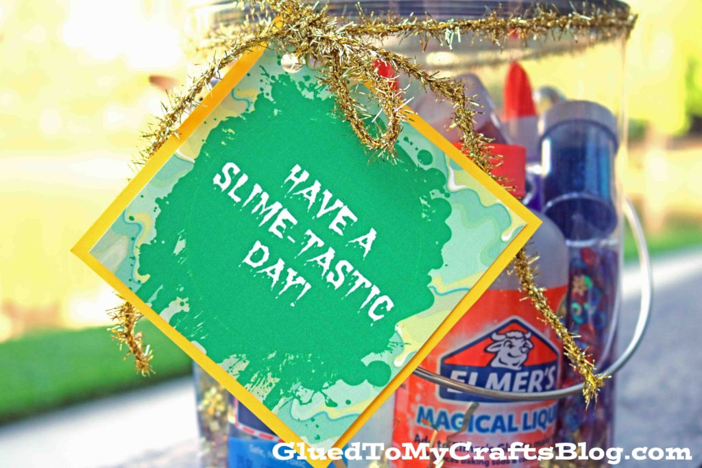 Have A Slime-Tastic Day - Free Gift Tag Printable