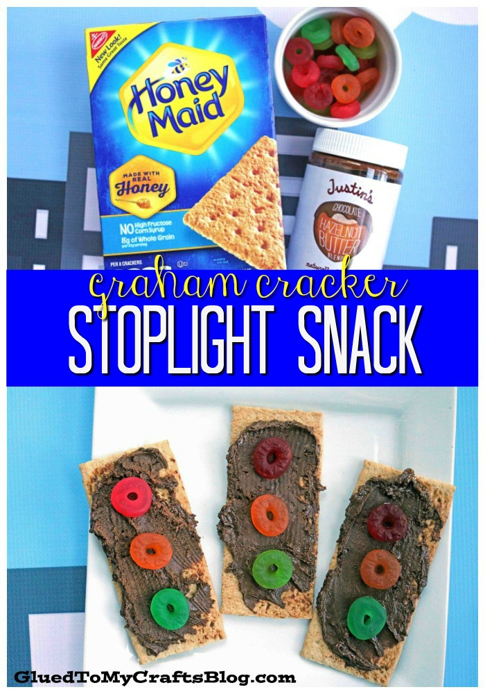 Graham Cracker Stoplight Kid Snack Idea For Story Time