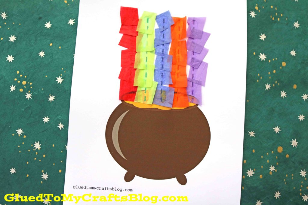 Rainbow Pot of Gold - Kid Craft