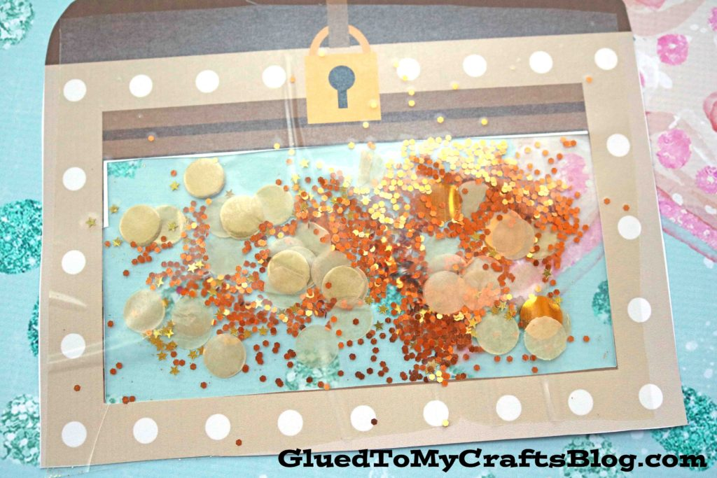 What Will Be In Your Treasure Chest - Kid Craft