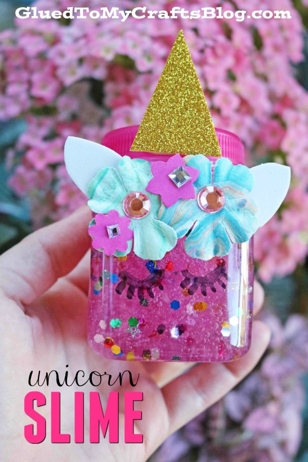 The Easiest Unicorn Slime & Container For Kids To Recreate!