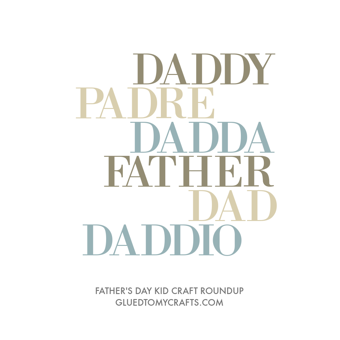 Father's Day Keepsake Ideas featured on Glued To My Crafts