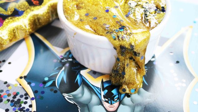 Batman Inspired Slime