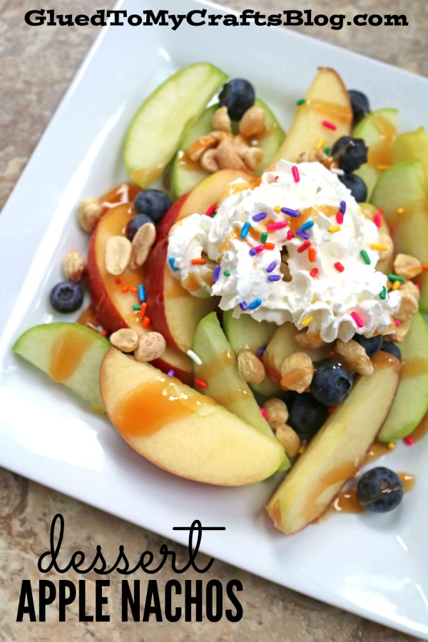Kids In The Kitchen - Dessert Apple Nachos