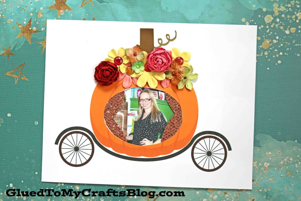 Paper Pumpkin Carriage - Kid Craft Idea