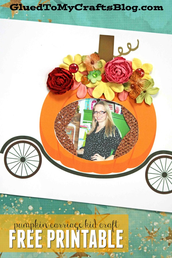 Paper Pumpkin Cinderella Carriage - Kid Craft Idea For Fall