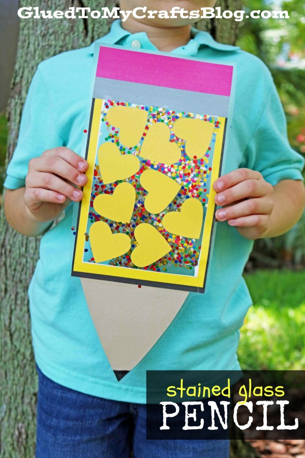 Stained Glass Pencil Craft To Make This Back To School Season