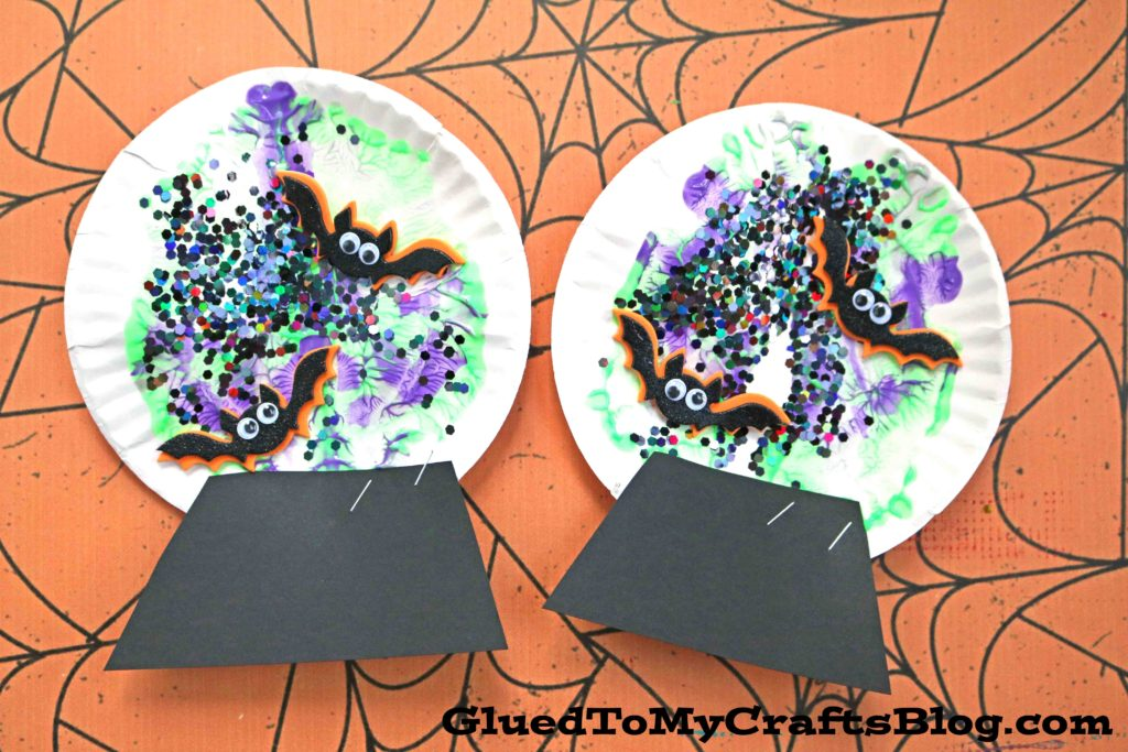 Paint Splat Witch's Magic Ball - Kid Craft