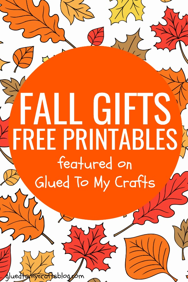 Fall Gift Tag Ideas - Free Printable Roundup