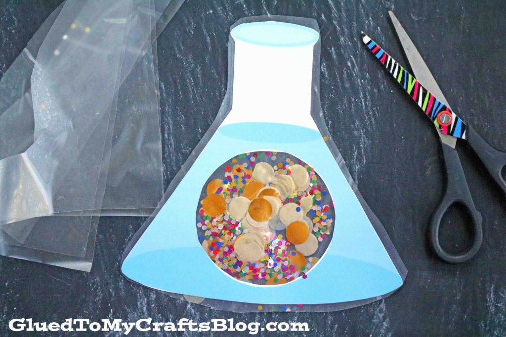 Inside Your Halloween Beaker - Free Template