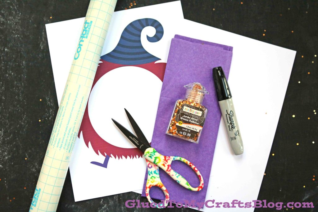 """My """"Not So Scary"""" Halloween Monster Craft"""