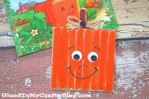Spookley The Square Pumpkin Canvas - Kid Craft