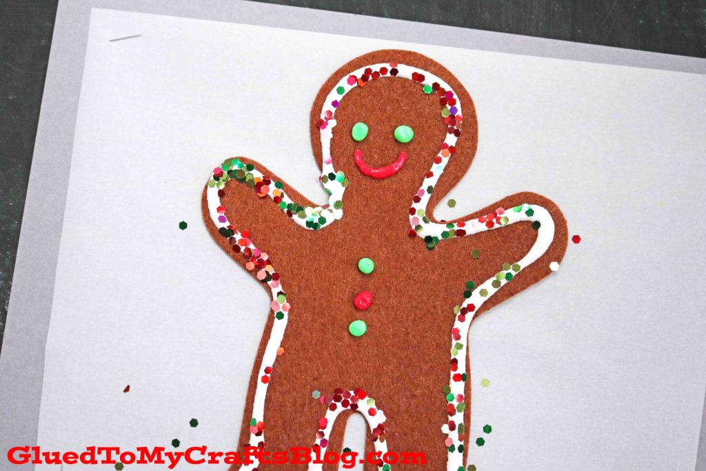 Christmas Cookie Sheet - Mixed Media Kid Craft