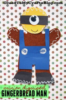 Minion Disguised Gingerbread Man