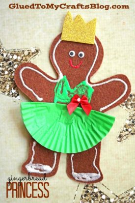 Princess Disguised Gingerbread Man