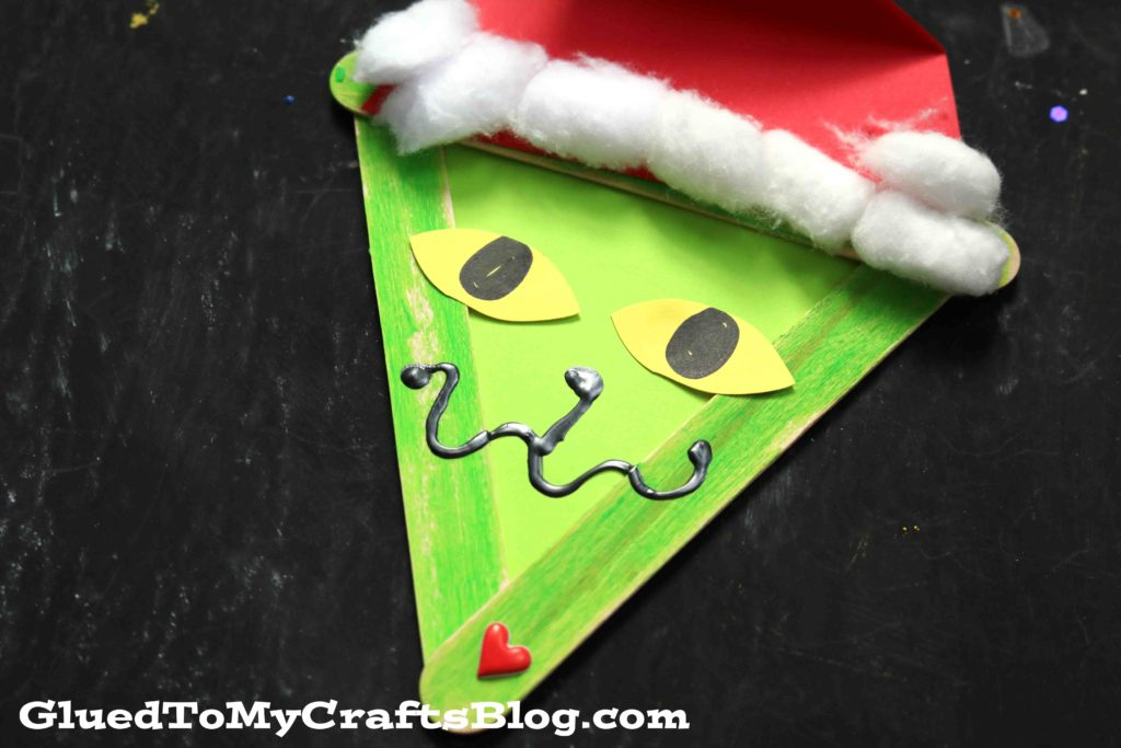 Popsicle Stick Grinch & Friends - Kid Craft