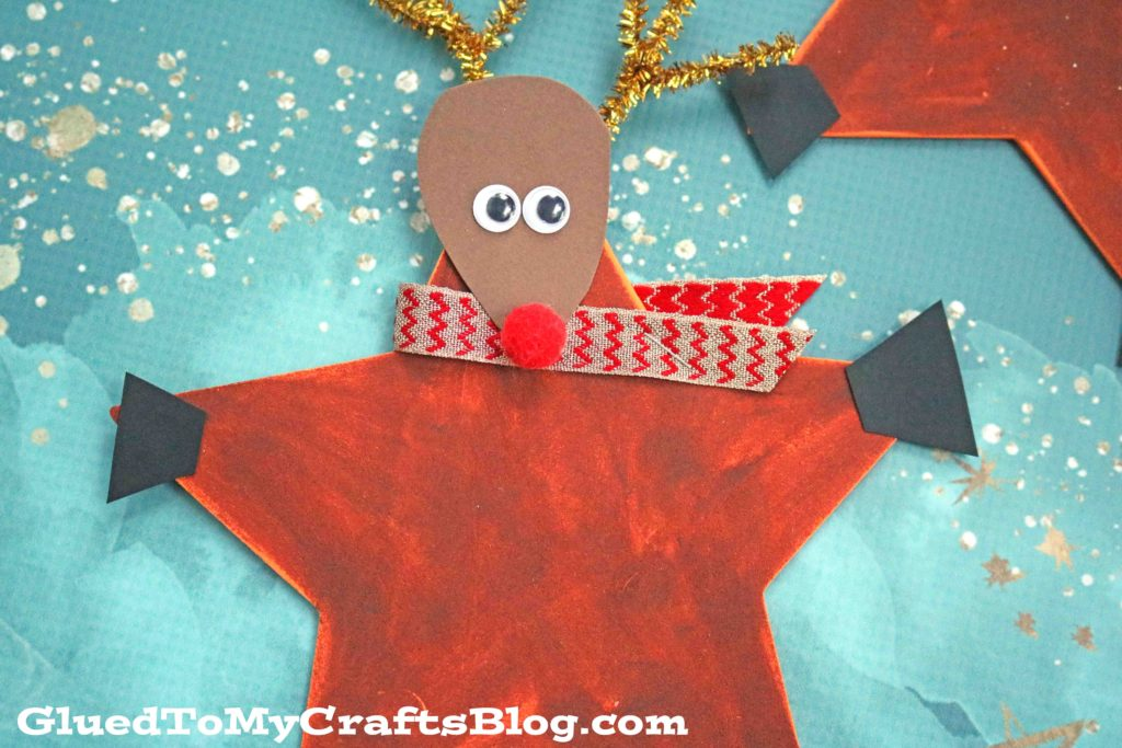 Festive Reindeer Star - Christmas Kid Craft