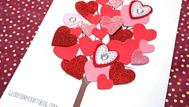 Love Tree Kid Craft w/free printable template