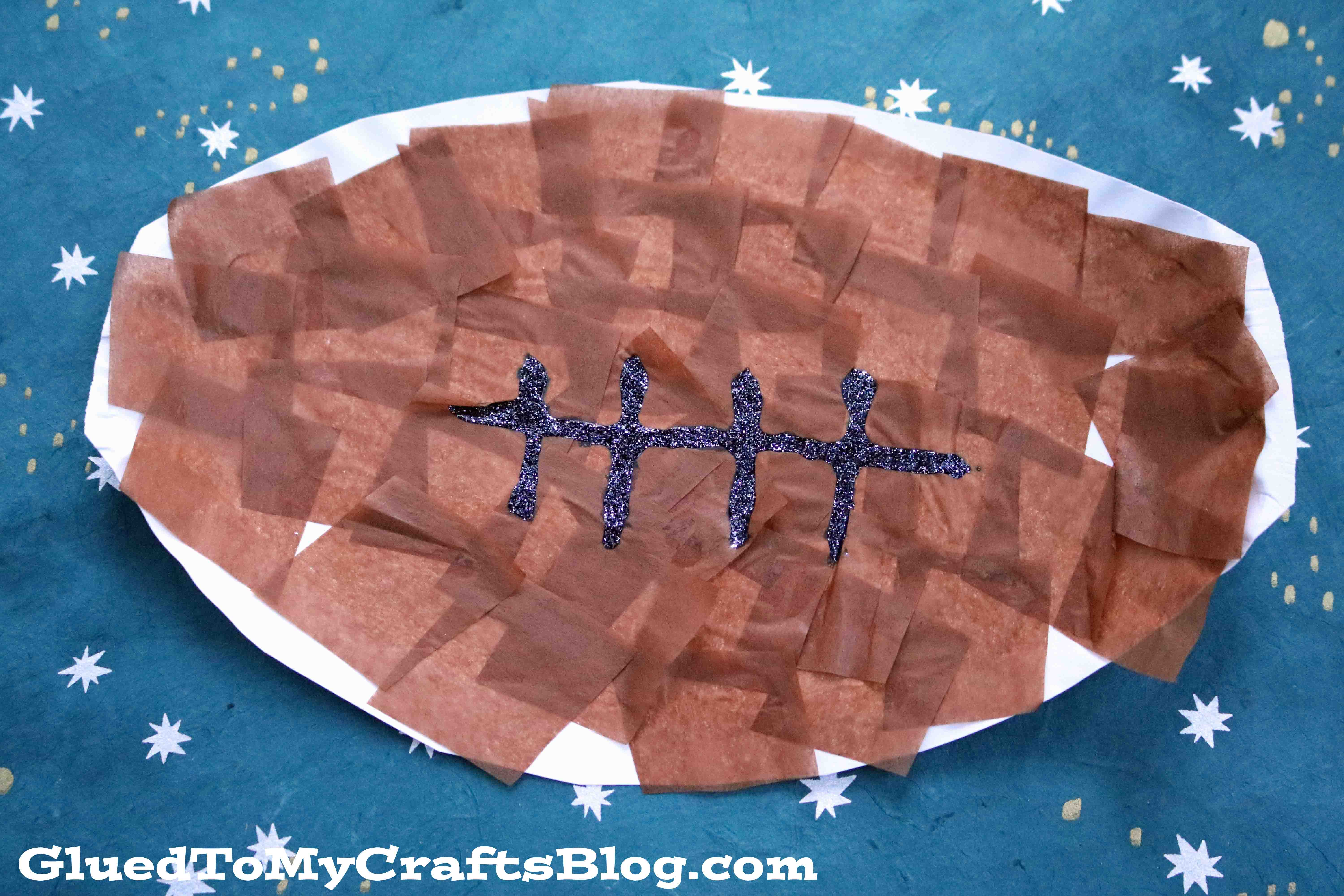 Paper Plate Football {Kid Craft}
