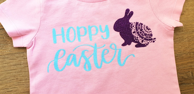 "Super Easy Cricut ""Hoppy Easter"" Shirt"