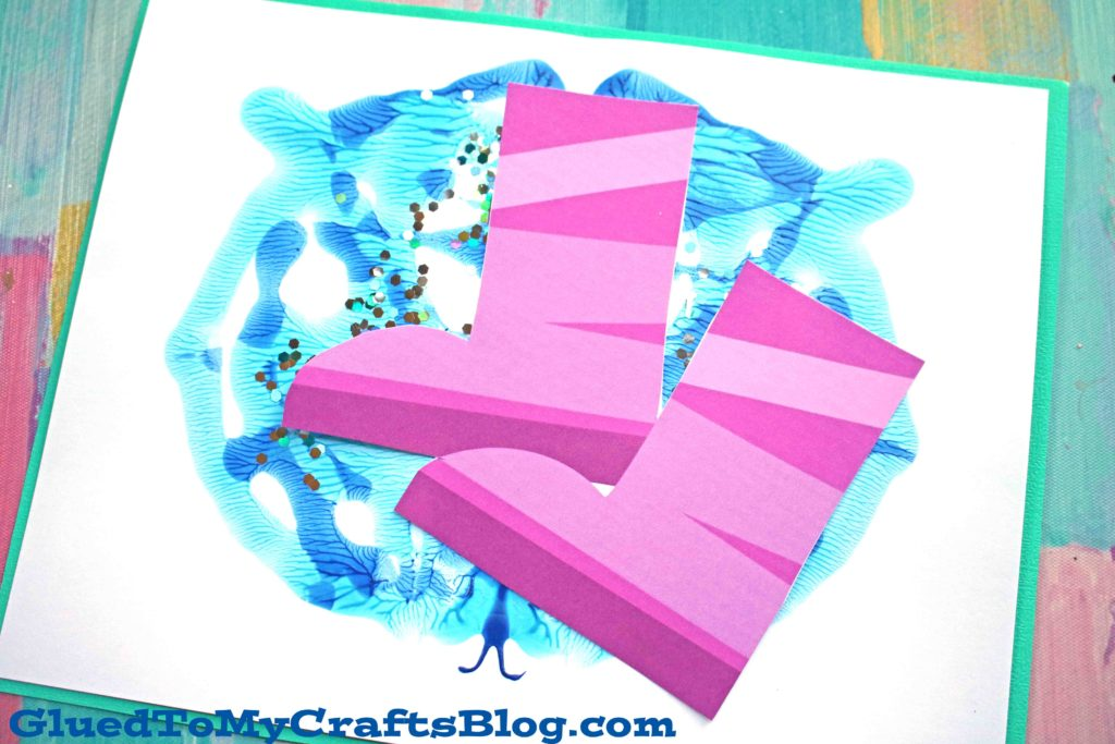 Paint Splat Rain Puddle - Kid Craft