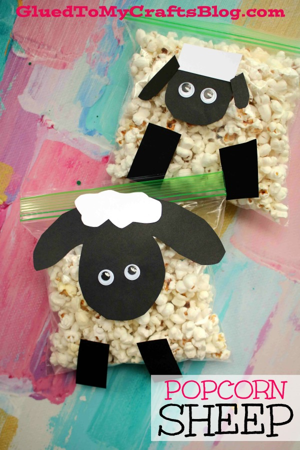 Creative Popcorn Sheep - Kid Craft