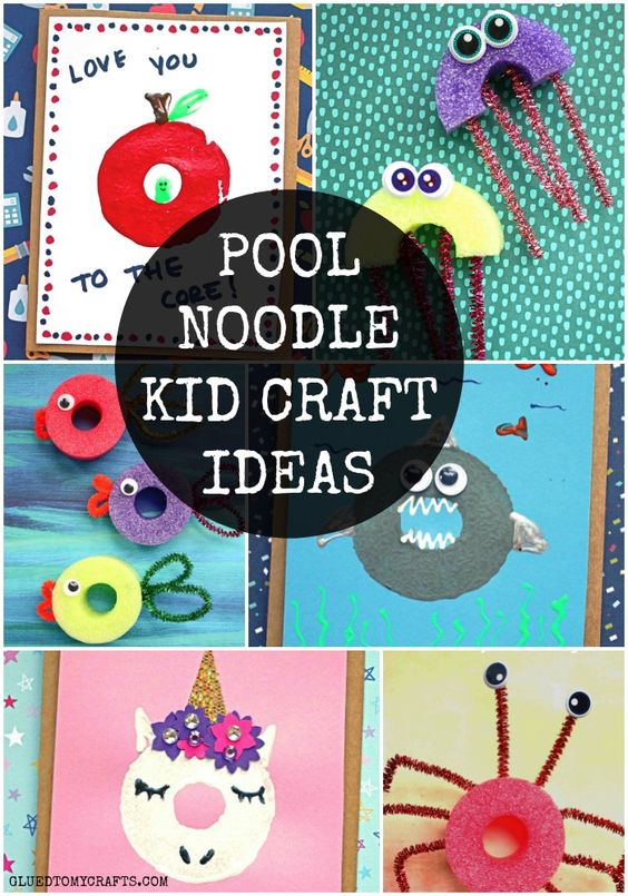 Creative Pool Noodle Crafts For Kids To Recreate