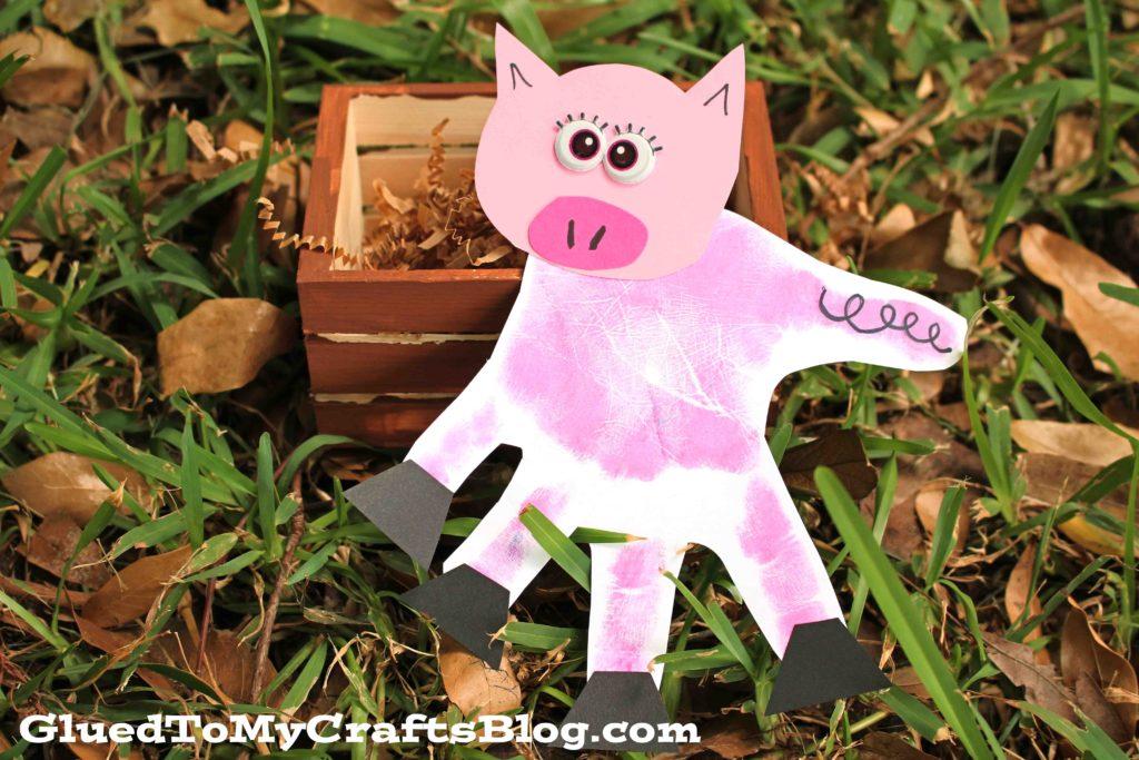 Invitation To Play - Wood Pig Pen Kid Craft