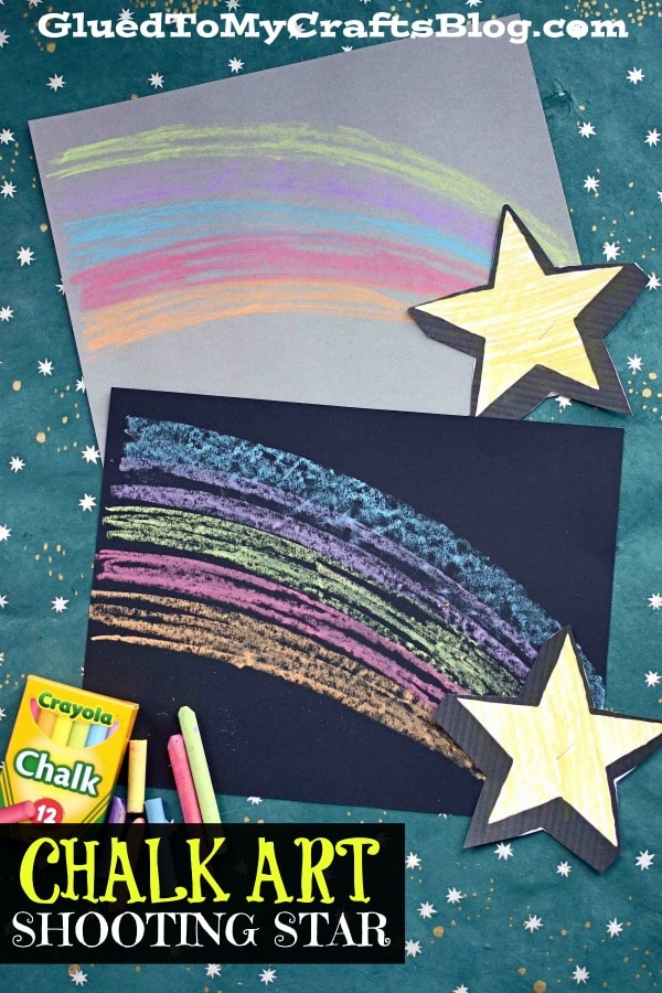 Chalk Art Shooting Star - Kid Craft