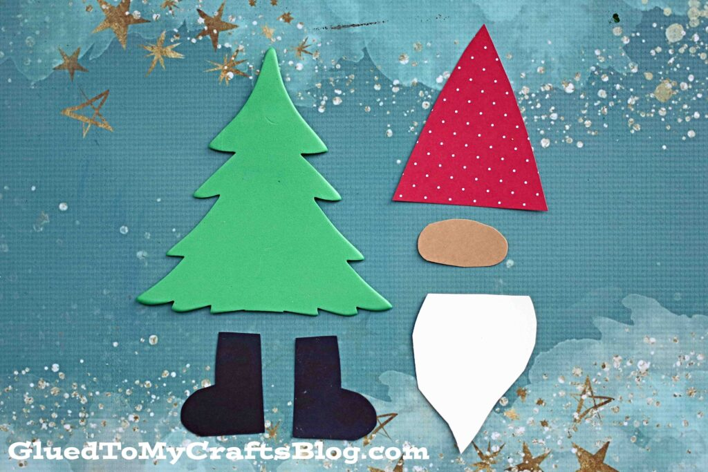 Christmas Tree Gnome - Kid Craft