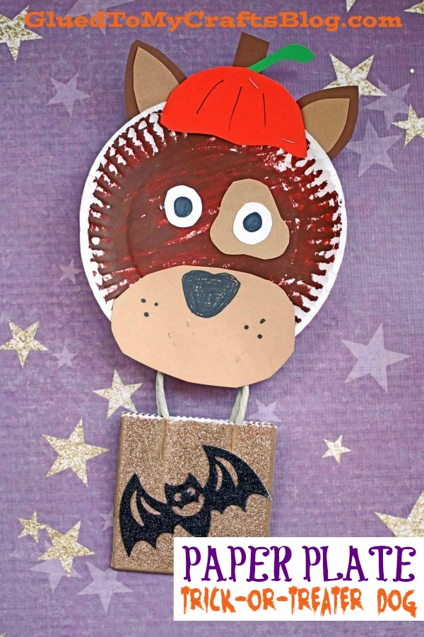 Trick-Or-Treater Dog - Kid Craft