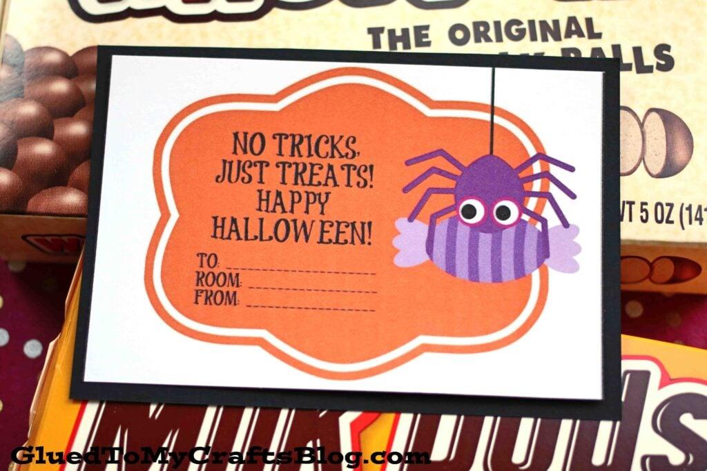 Free Halloween Candy Grams Printable