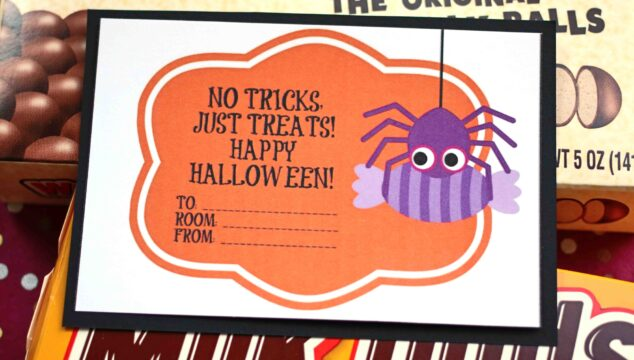 Free Halloween Candy Grams Printable