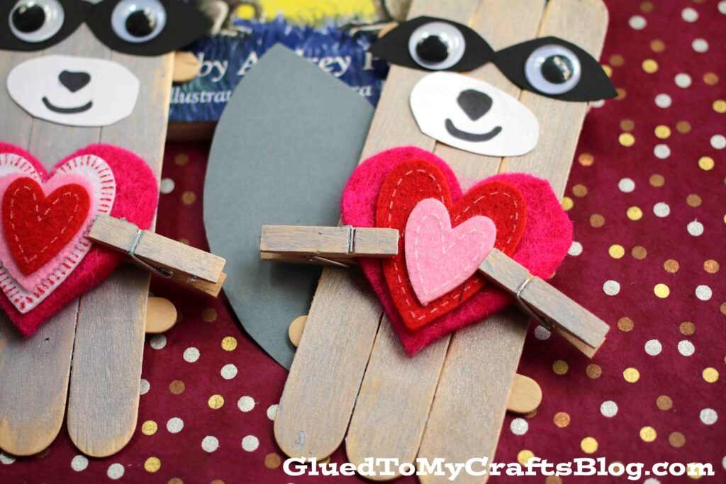 Kissing Hand Kid Craft Idea From Glued To My Crafts