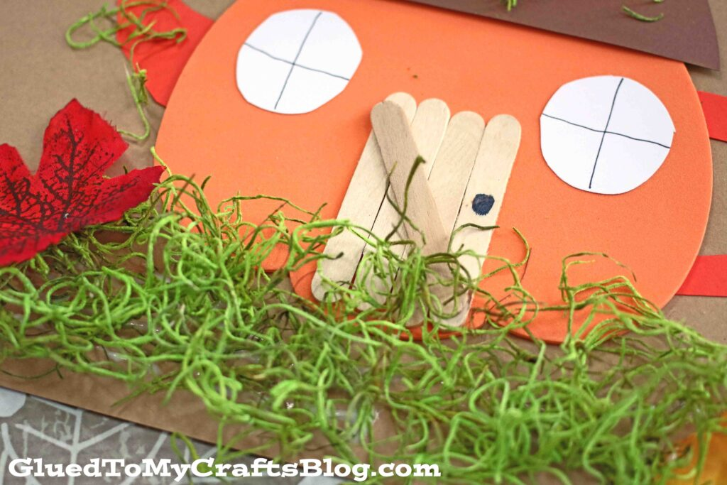 Pumpkin Teapot House - Kid Craft