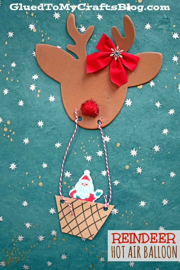 Reindeer Hot Air Balloon - Kid Craft
