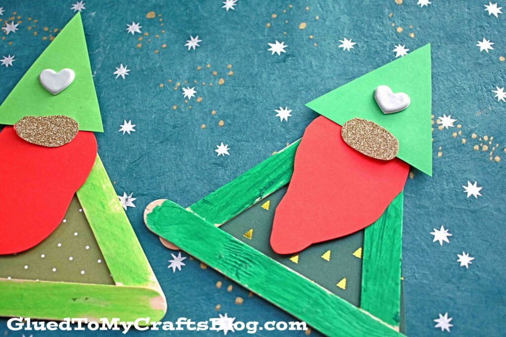 Popsicle Stick Leprechaun Gnome - Kid Craft