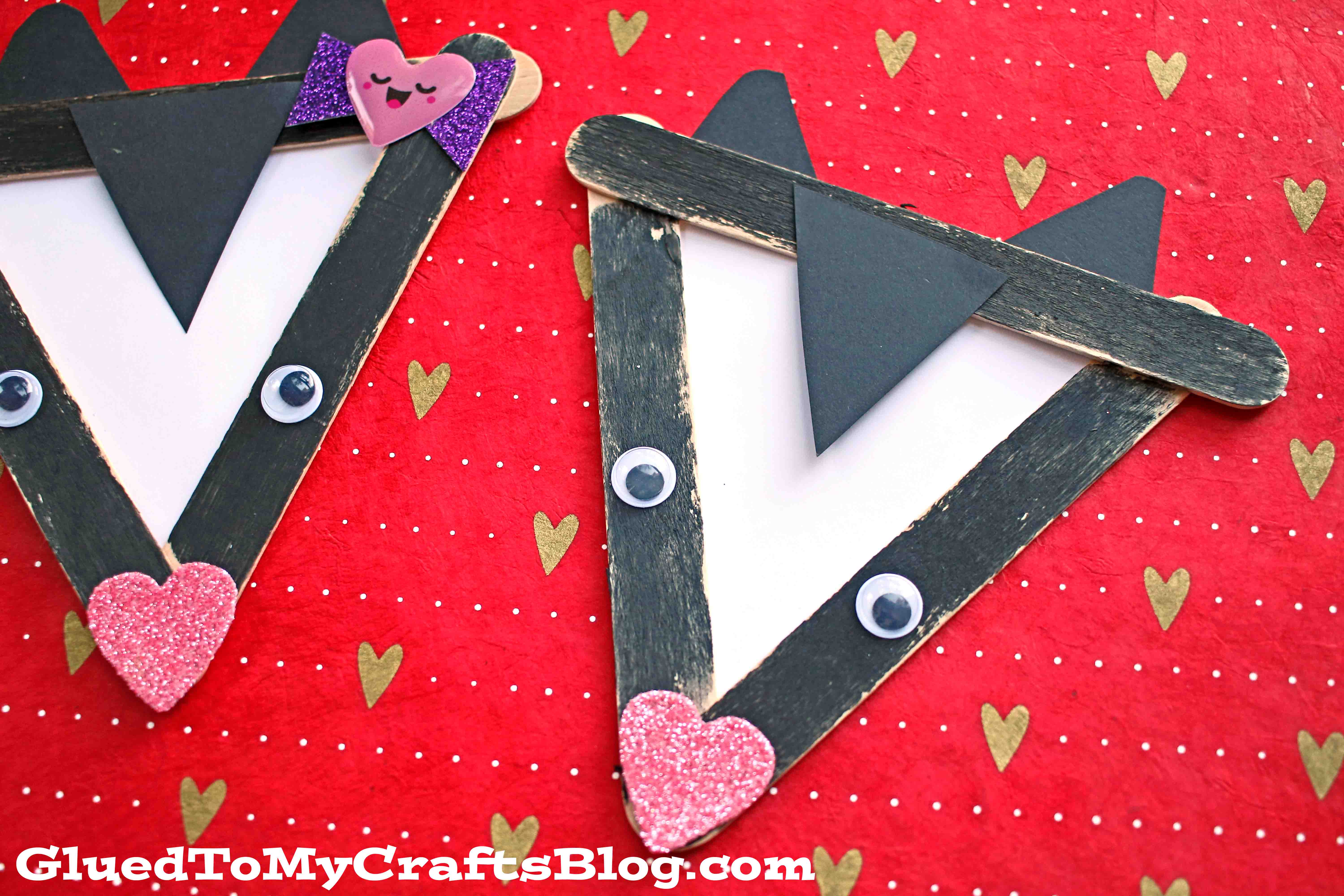 Popsicle Stick Skunk - Kid Craft