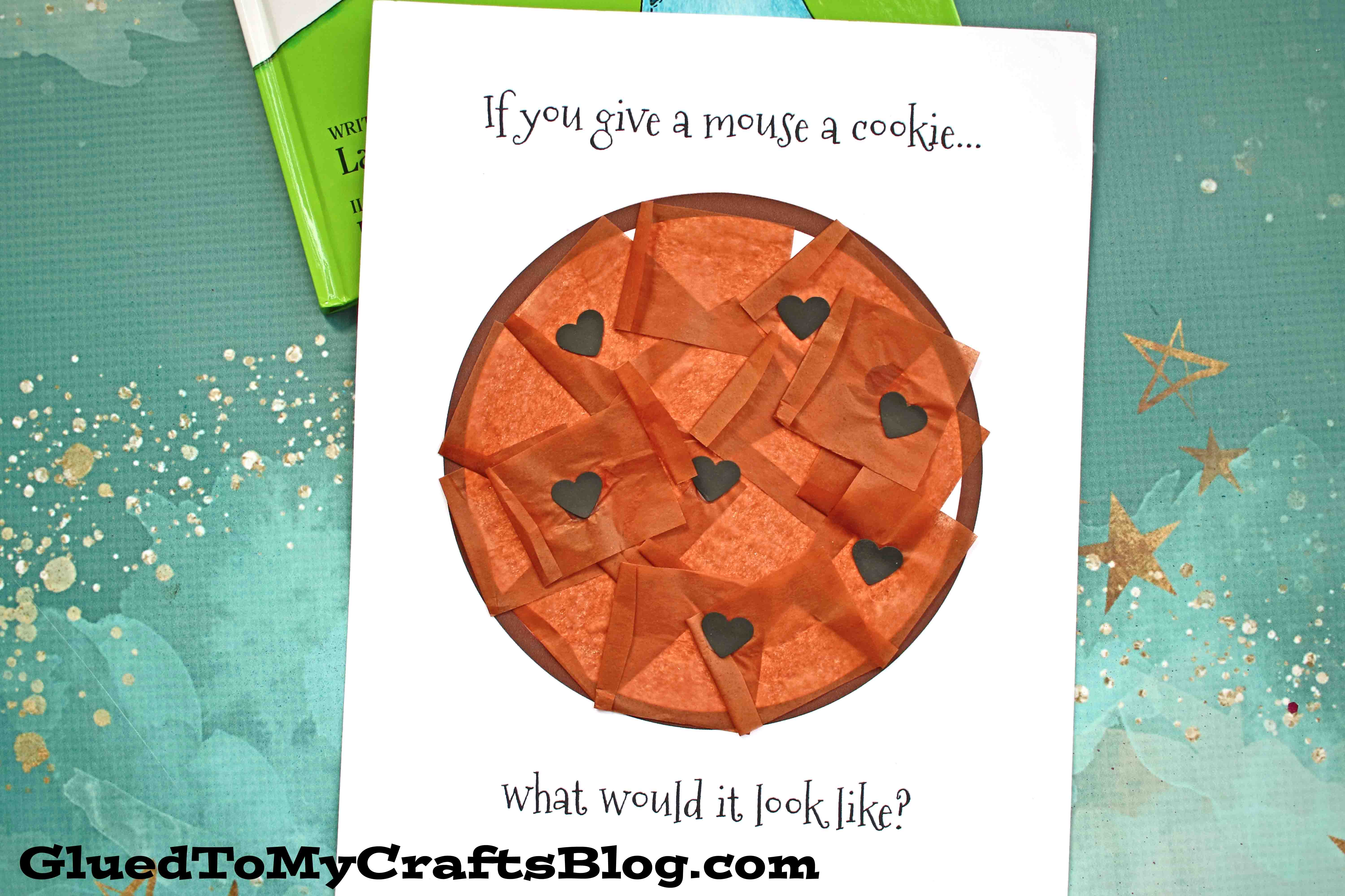 Paper Chocolate Chip Cookie Craft For Toddlers