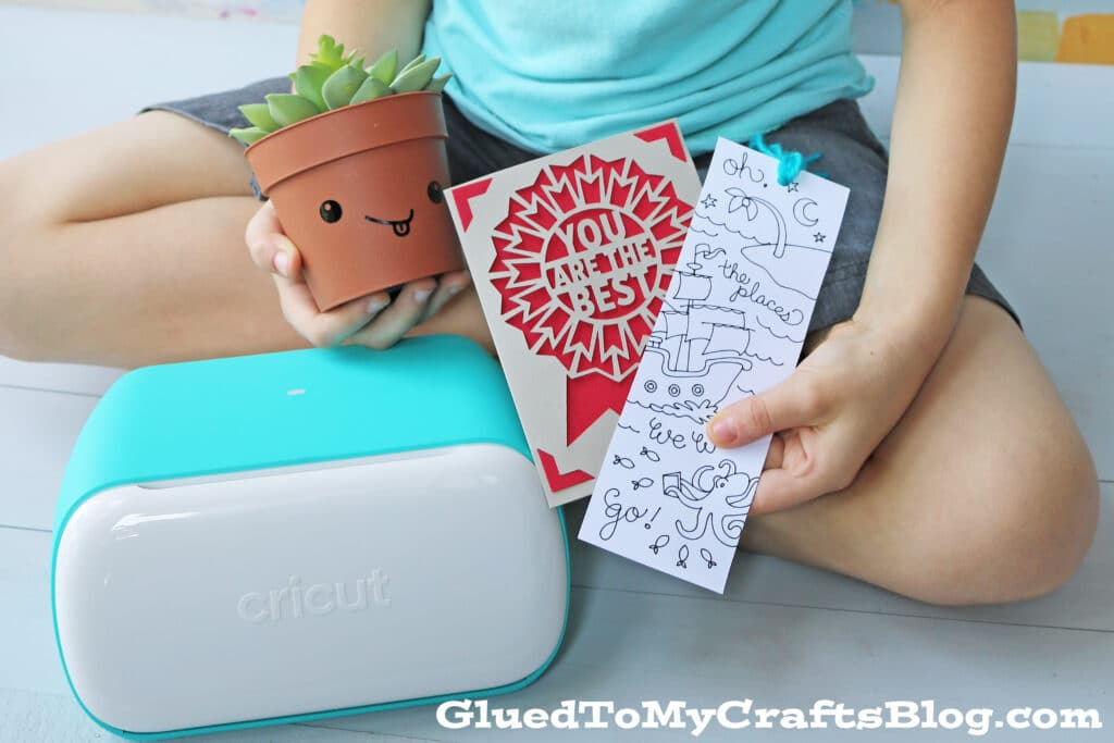 Our Finished Products Using The Cricut Joy Machine