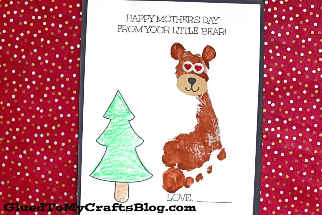 Happy Mother's Day From Your Baby Bear Keepsake