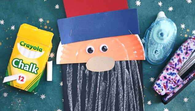 Paper & Chalk Art Uncle Sam Craft For Kids To Make