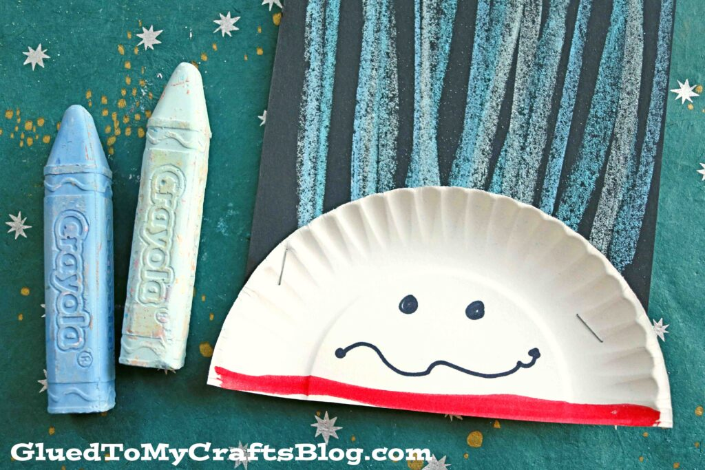 Chalk Art Thing 1 & 2 - Dr Seuss Kid Craft Idea