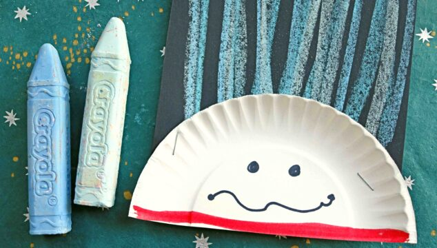 Chalk Art Thing 1 & 2 - Dr Seuss Kid Craft Idea