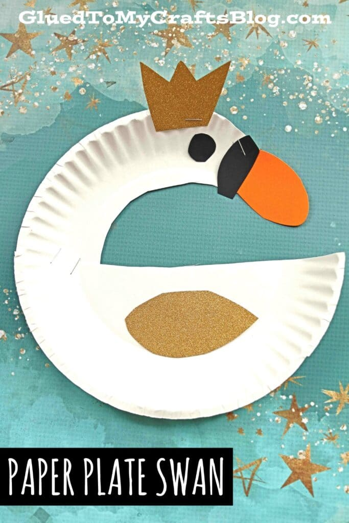 Make today an awesome craft day with our latest Paper Plate Swan kid craft idea! It's super simple, yet elegant and overall beautiful.
