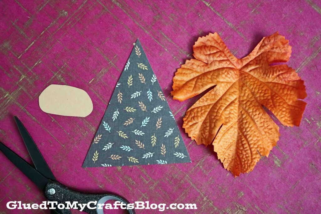 3-Step Leaf Gnome Craft Idea For Kids