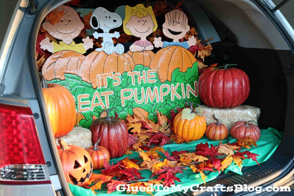 The Great Pumpkin Trick or Treating Sign