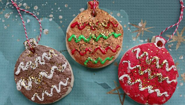 How To Make Salt Dough Ornaments For The Christmas Tree