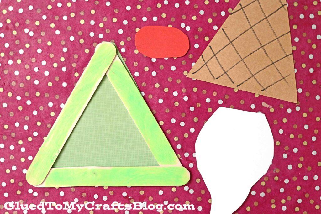 Ice Cream Gnome - UNIQUE Popsicle Stick Craft Idea For Kids!