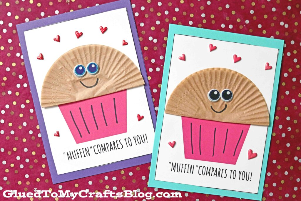 Cupcake Liner Muffin Card - MUFFIN Compares To You!